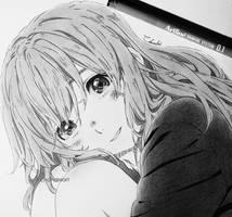 Nishimiya Shouko by ChandniArt