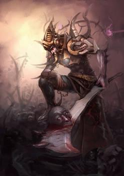 Sword evil spirit