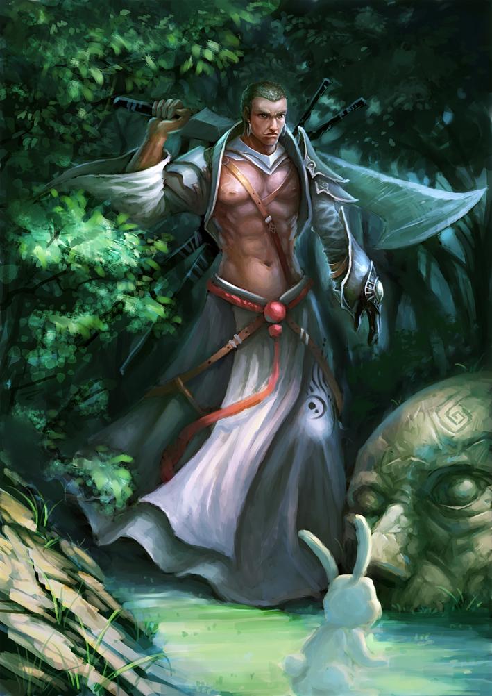 Swordsman by redpeggy