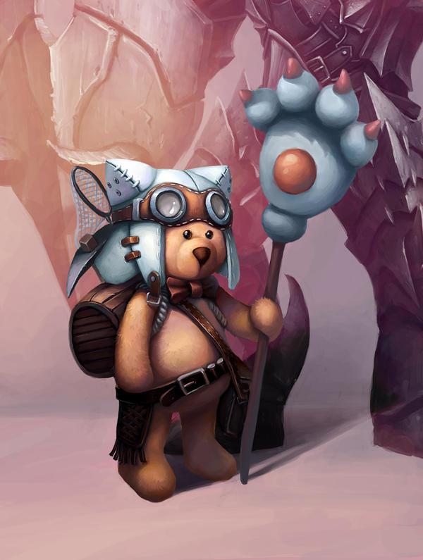 Taking risks of floret bear