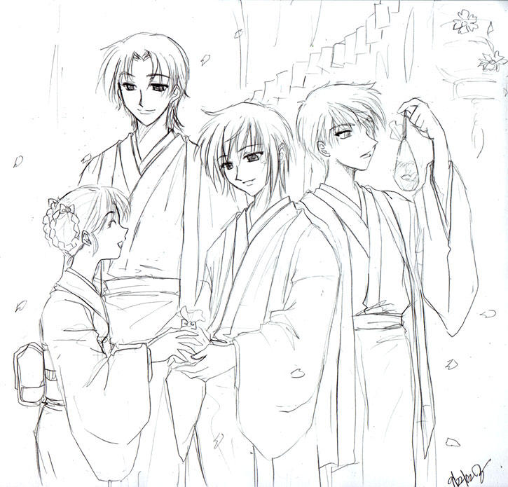 kyo coloring pages - photo#30