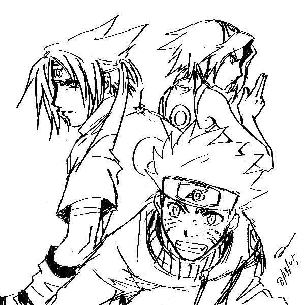 Naruto - Team 7 by majochan on DeviantArt