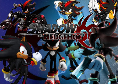 shadow hedgehog wallpaper. Shadow The Hedgehog Wallpaper