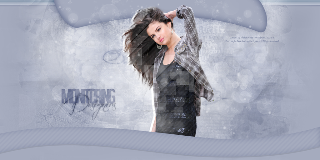 Selena Gomez Header#2 - Portfolio by DarkVisuals