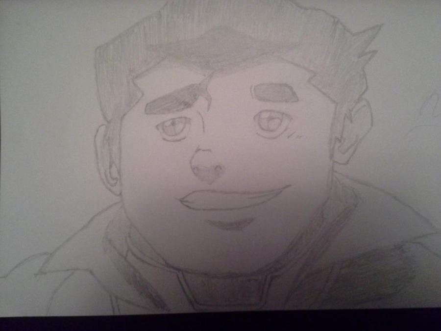First Bolin Sketch by NekoGirl01