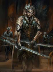 Silver Centurion leona by avvart