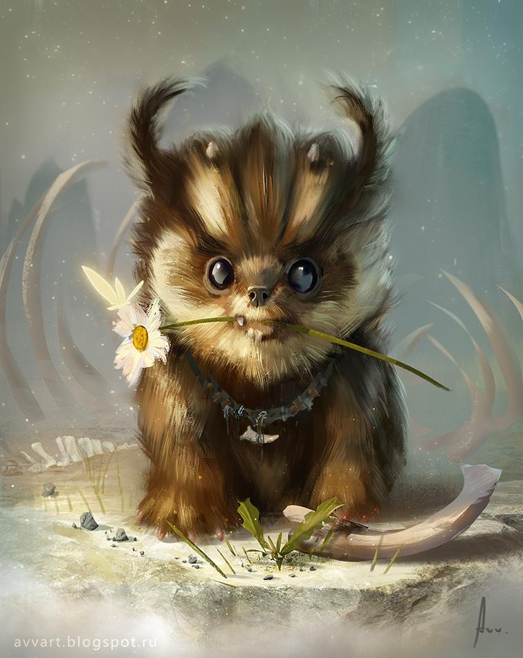 little animal by VinogradovAlex