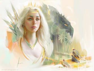 Daenerys by avvart