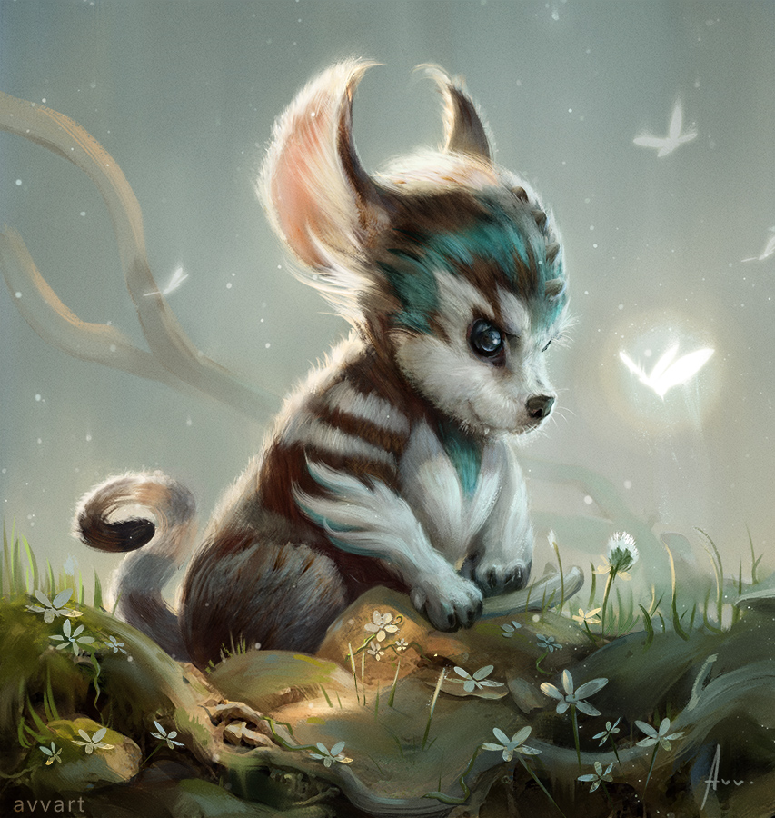 little animal by avvart on deviantart