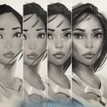 Pocahontas steps