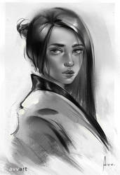 Sketch Portrait Avvart by avvart