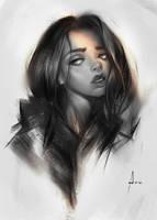 Ipad Portrait by avvart
