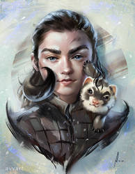 Arya Stark by avvart