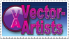 Vector Artists stamp by vector-artists