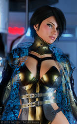 Alexia Sci Fi Pin-Up Part 1 - 2 by Fab3DX