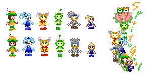 SpriteGirl Characters Redone by SpriteGirl