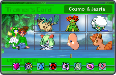 Cosmo and Jessie Pokemoncard by SpriteGirl