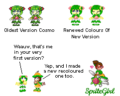 Renewed First CosmoSprite by SpriteGirl