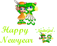 Welcome Into The Year 2010 by SpriteGirl