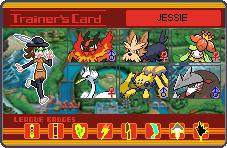 My Pokemon TrainerCard Unova by SpriteGirl