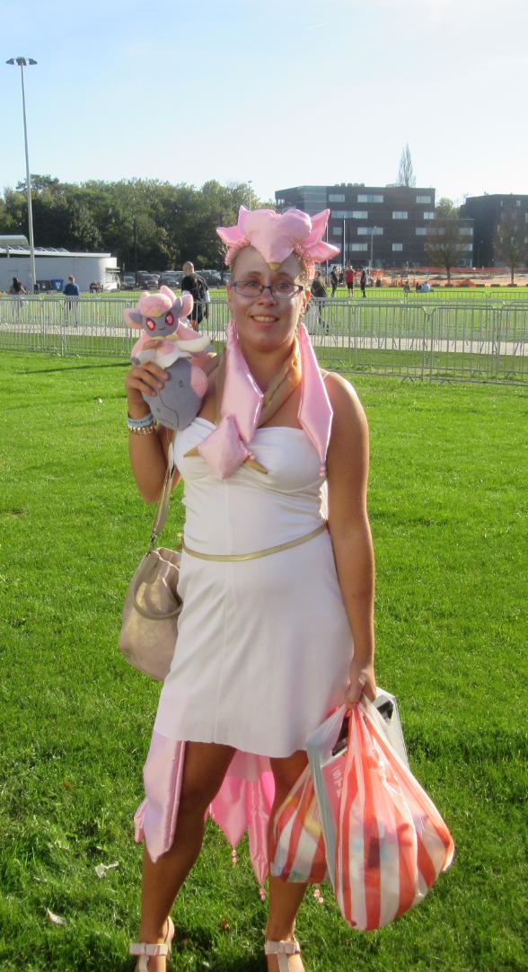 Mega Diancie got Diancie Doll! by SpriteGirl