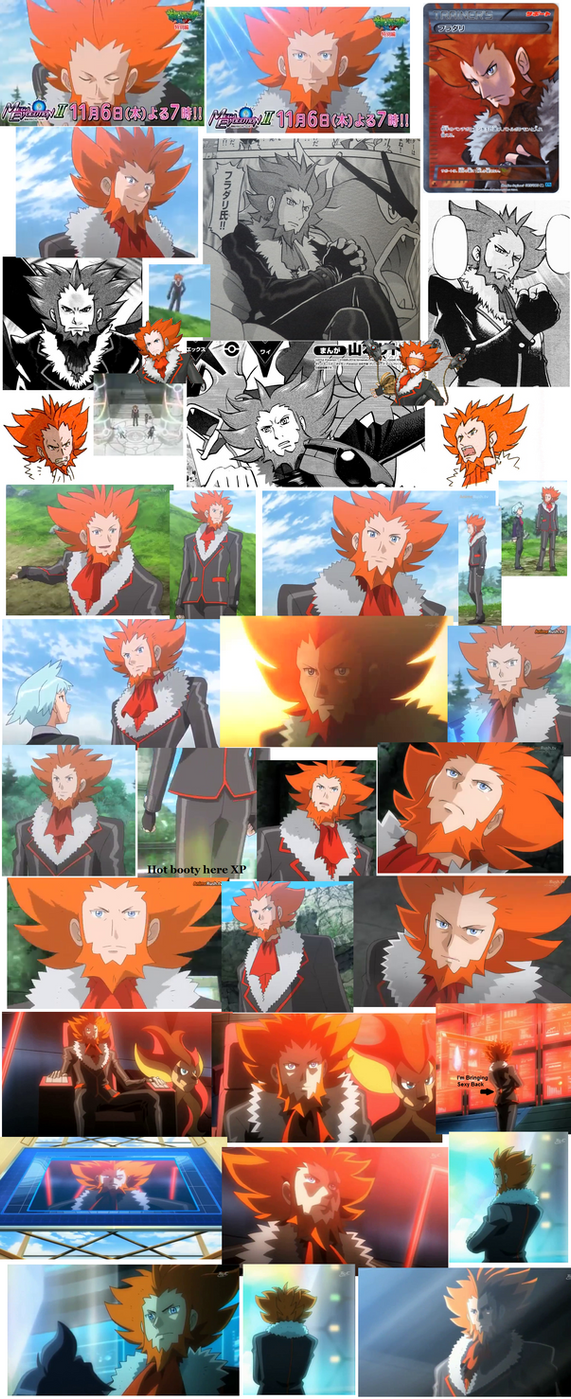 Lot's of Lysandre (New Screenshots) by SpriteGirl