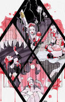 Harley Quinn Break into Comics Entry by xLuneNoire