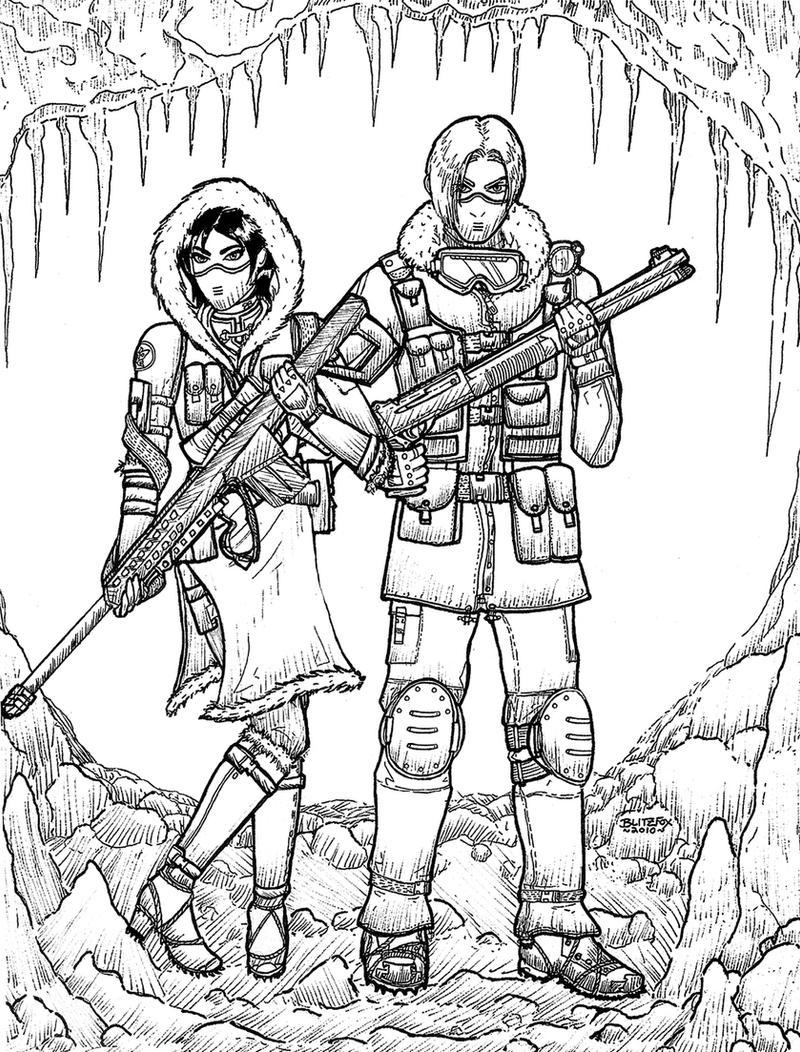 Resident Evil 6: Snow Bound by SpecialAgentKennedy