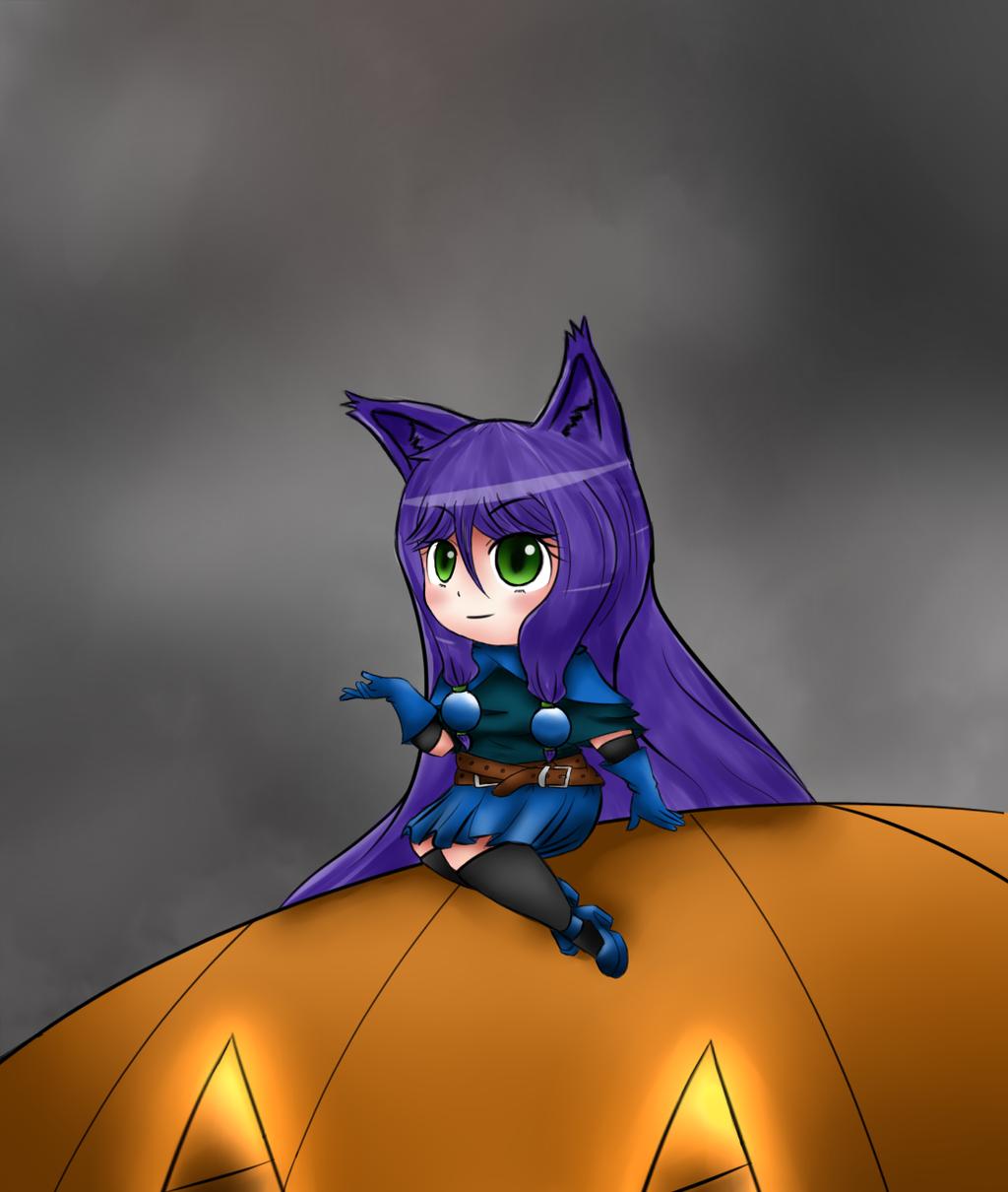 Something Halloweenie by Obysuca