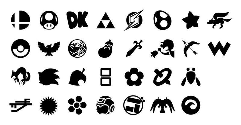 Smash Bros. Logos