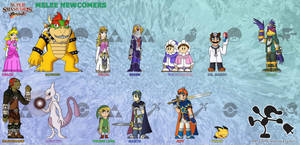 SSBB: Melee Newcomers
