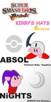 SSBB: Kirby's Hats Ed. 6