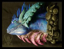dragon head by KoKoRDrEaM