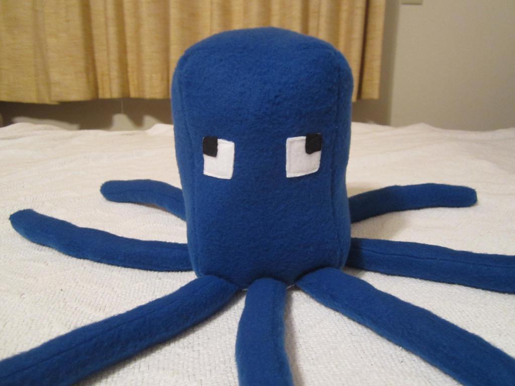 Minecraft Squid Mob Plush 1.0 by colbyjackchz