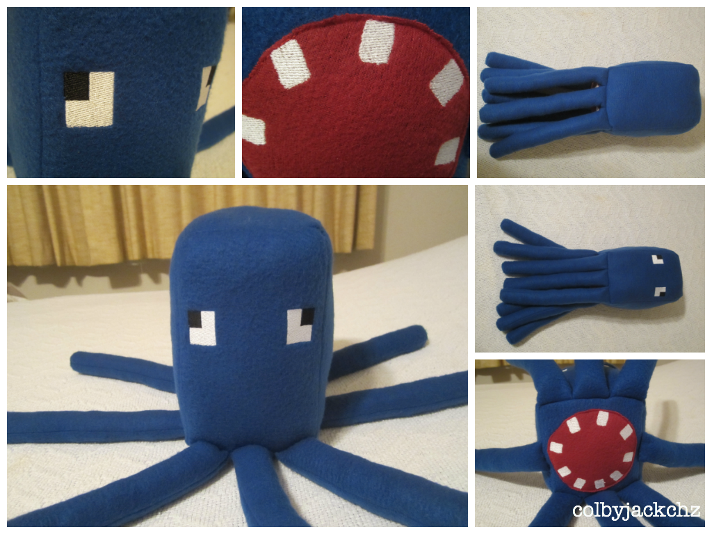 Squid Plush 2.0 by colbyjackchz