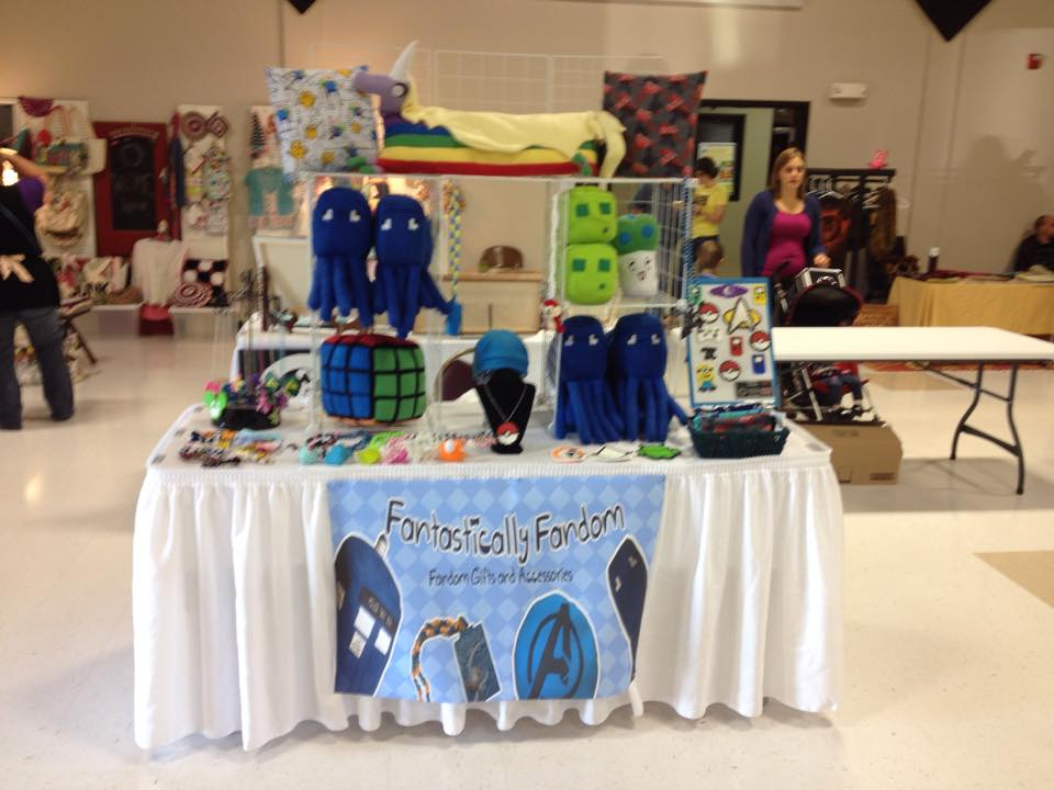 First Craft Show Booth- Craftacular by colbyjackchz