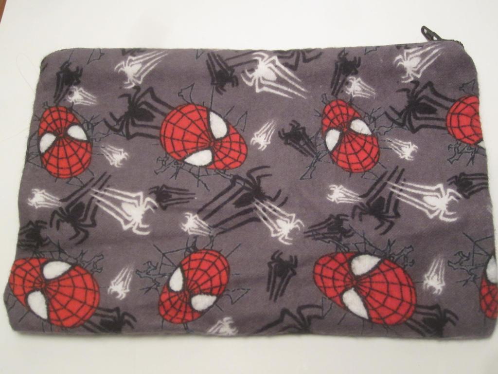 Spiderman Zipper Bag by colbyjackchz