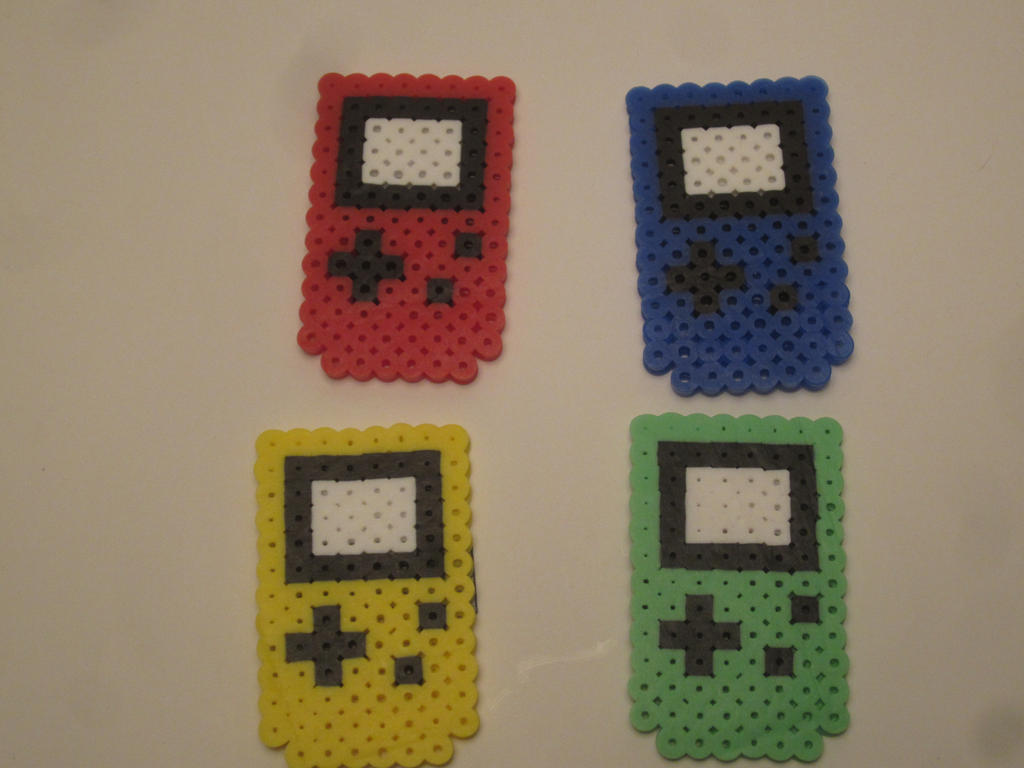 GameBoy Magnet Set by colbyjackchz