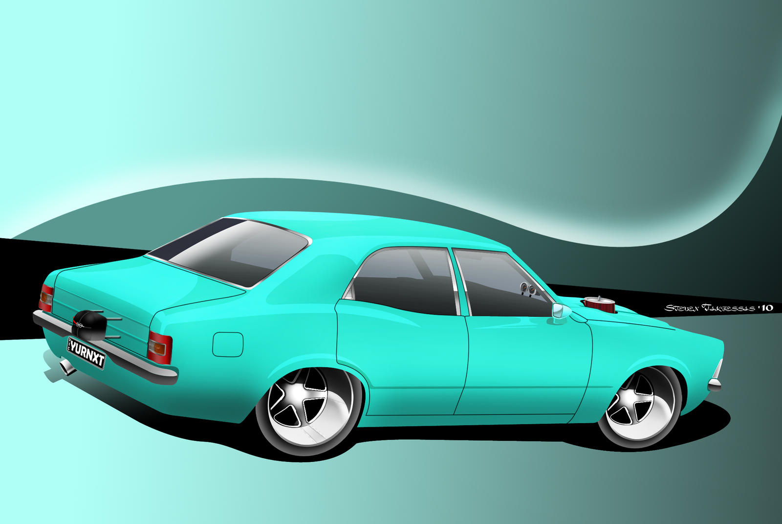 Ford Cortina Pro Street by