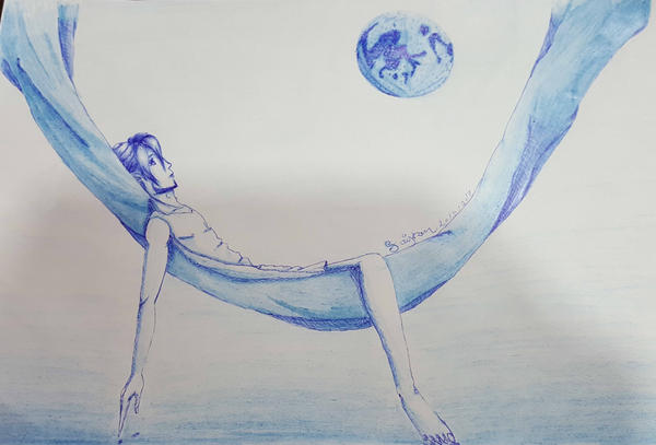 Blue Moon by saiyron