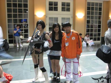 Yuffie Rinoa Anime Boston 2009
