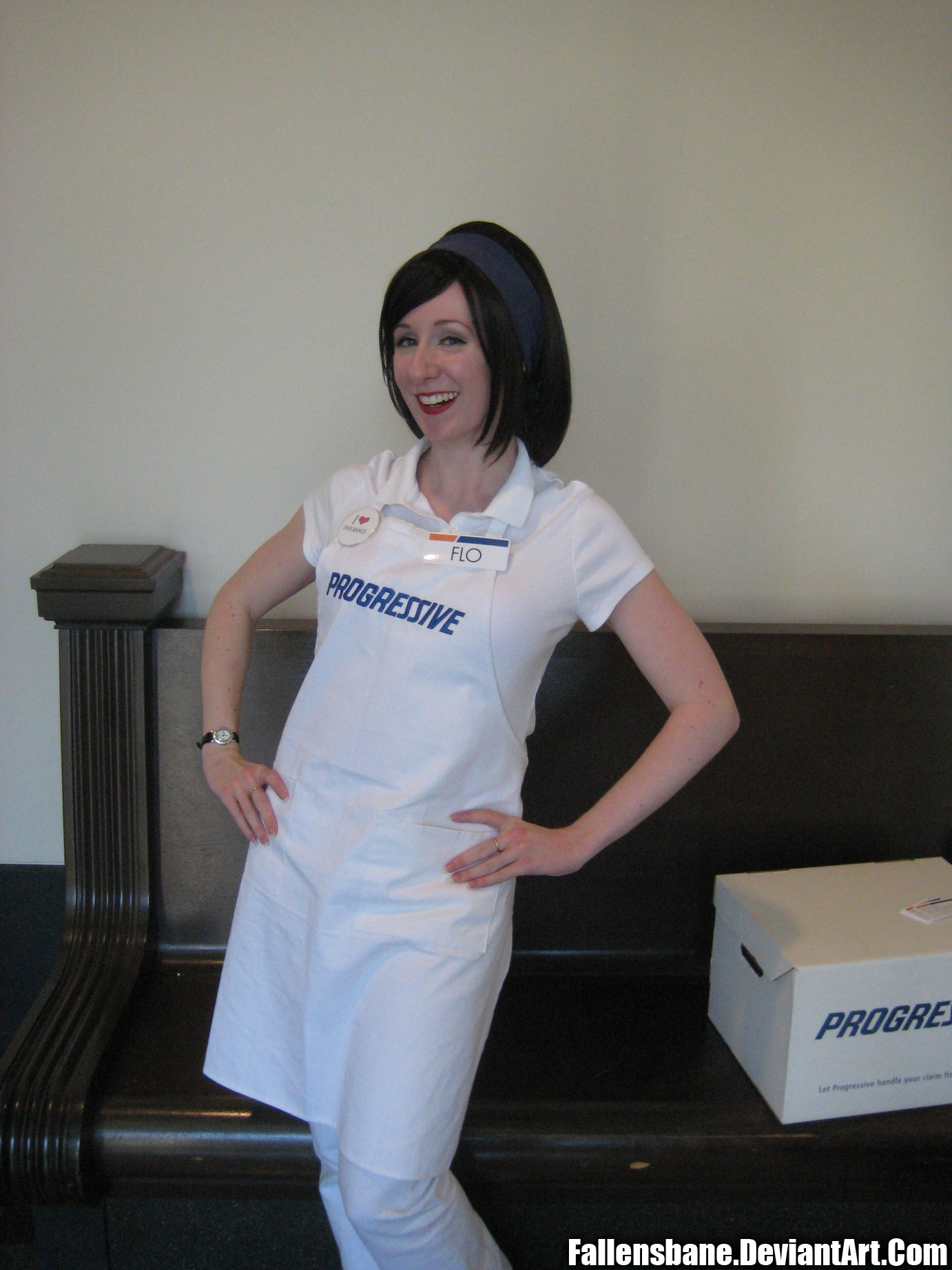 Flo progress anime boston 2010 by fallensbane on deviantart - Flo progressive wallpaper ...