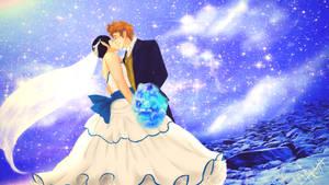happy wedding by Oni-Moon
