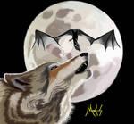 Dragon wolf moon