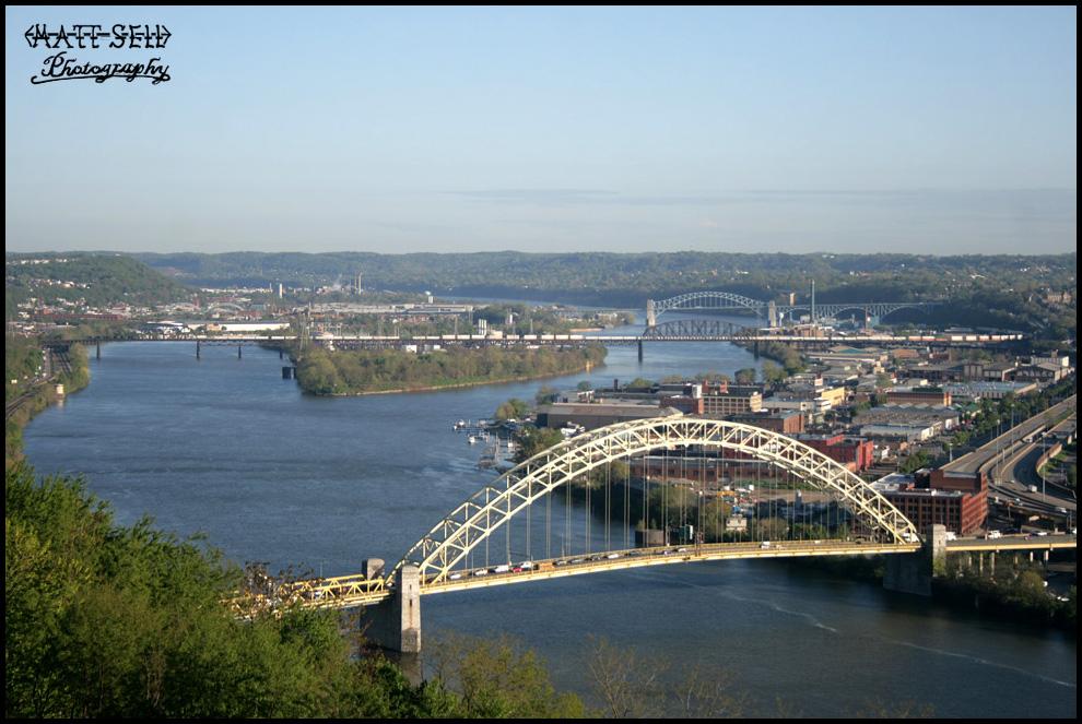 OC bridge crossing by DragonWolfACe