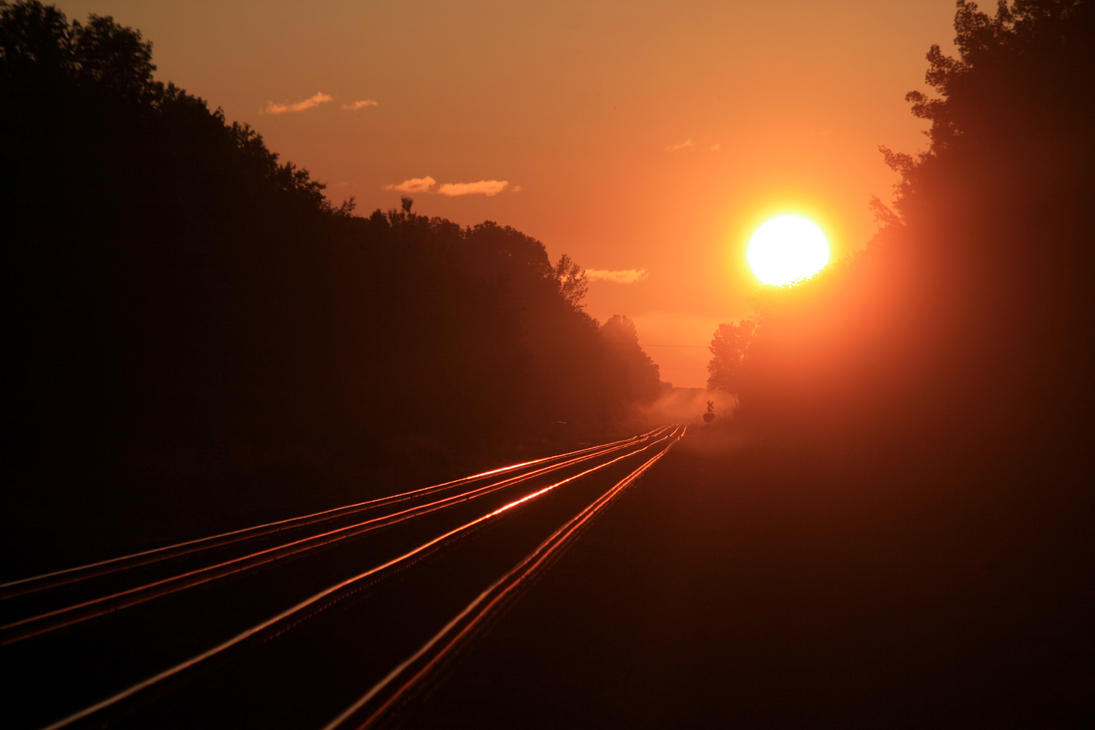 Summer Rails by DragonWolfACe