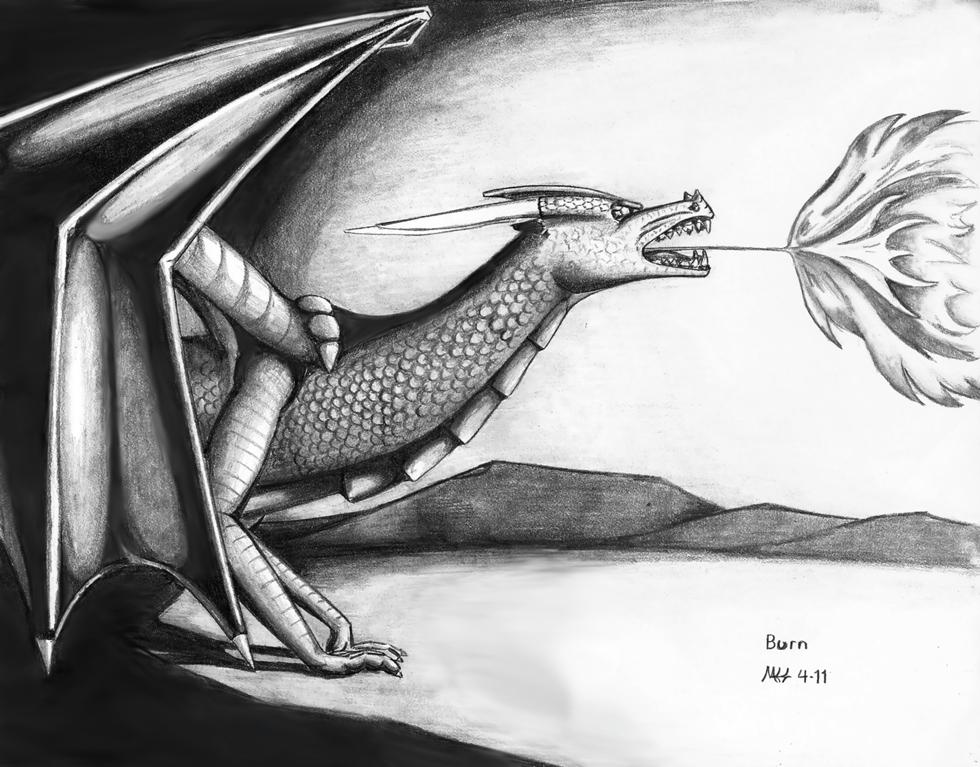 Burn by DragonWolfACe