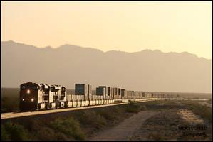 Desert Dawn by DragonWolfACe