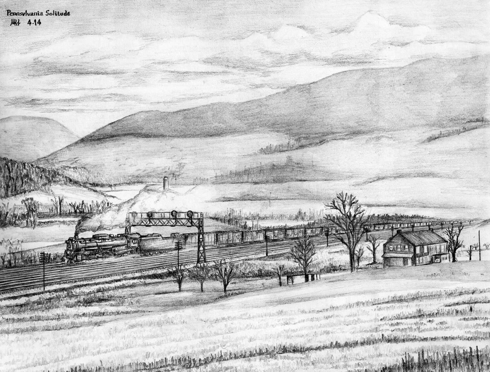 Pennsylvania Solitude by DragonWolfACe