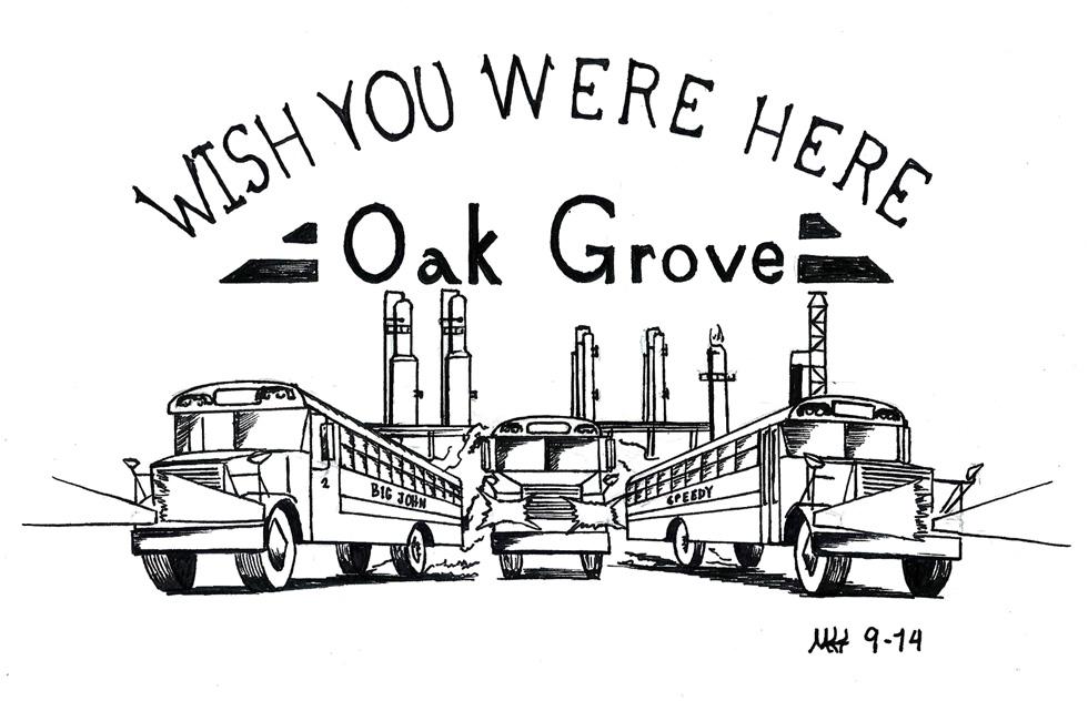 Oak Grove by DragonWolfACe